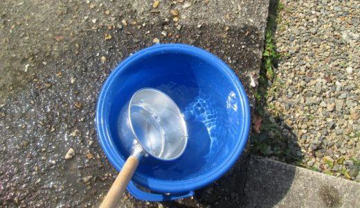 打ち水は時間を問わず効果あり 不快指数から考える打ち水効果